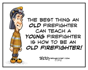 Old firefighter
