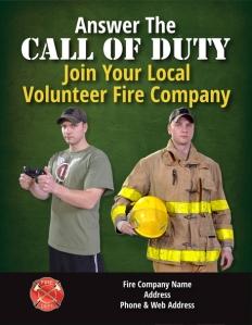 become a volunteer firefighter recruitment call of duty flyer 7 lg