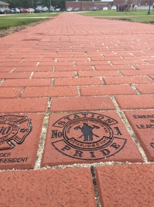 Station Pride's Brick on the Walk of Honor in support of the NFFF