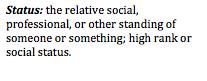 Status Definition